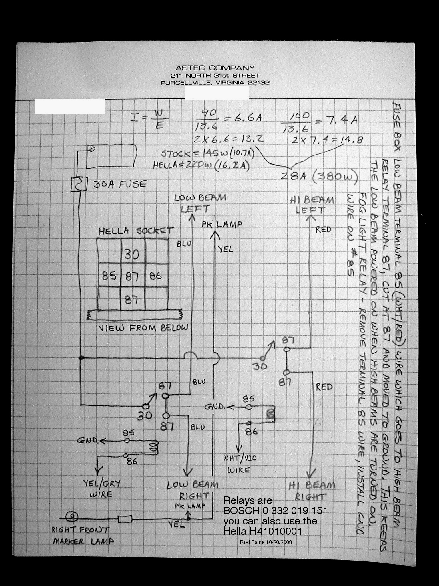 ... wiring instructions and schematic , to ...