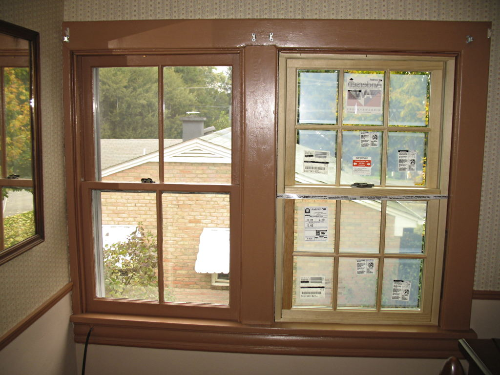 Bedroom Windows The Only 2 Over In House And Last Ones That Have Not Had Aluminum Triple Track Storm Removed These Two