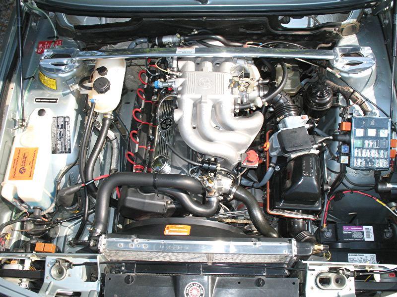 528e Engine Bay